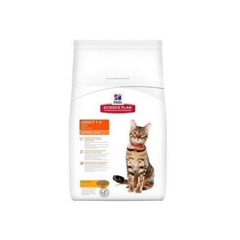 Hill's Feline Adult Chicken Optimal Care 15kg