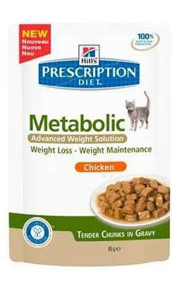 Karma mokra Hill's Prescription Diet Metabolic Feline z kurczakiem 85g