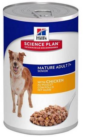 Karma mokra Hill's Science Plan Active Longevity Mature Adult 7+ Medium Chicken 370g