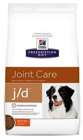 Karma sucha Hill's Prescription Diet Joint Care j/d Canine z kurczakiem 2kg
