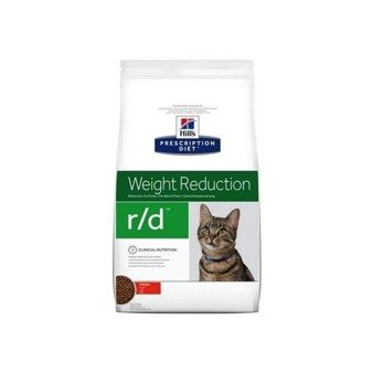 Karma sucha Hill's Prescription Diet Weight Reduction r/d Feline z kurczakiem 5kg