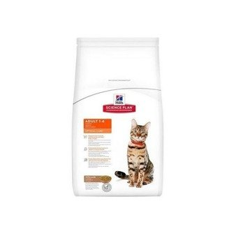 Karma sucha Hill's Science Plan Feline Adult Optimal Care z jagnięciną 400g