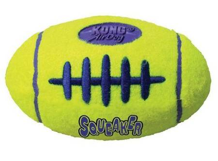 Kong Airdog Squeaker Football Small 8cm [ASFB3]