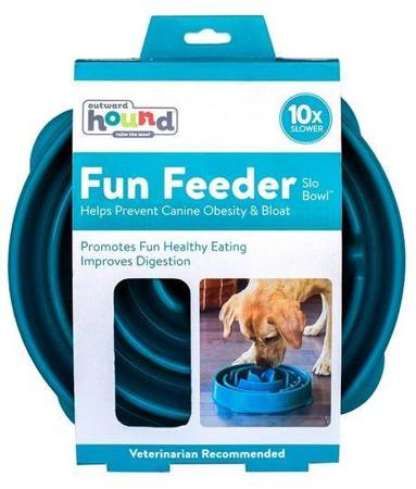 Outward Hound Fun Feeder Miska turkusowa [51002]