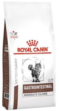 Royal Canin Veterinary Diet Feline Gastro Intestinal Moderate Calorie 4kg