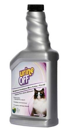 Urine Off Cat & Kitten Formula - do usuwania plam moczu 500ml