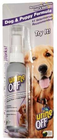Urine Off Dog & Puppy Odor & Stain Remover - do usuwania plam moczu 118ml