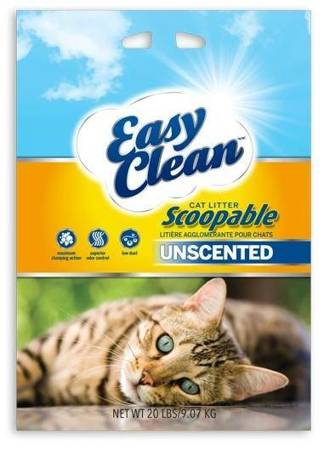Żwirek sodowy Easy Clean Pestel 9,1kg
